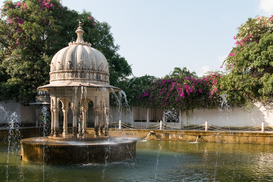 Saheliyon Ki Bari Udaipur Fountains