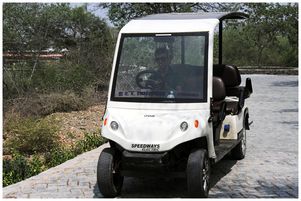 Sajjangarh Biological Park Udaipur Golf Cart