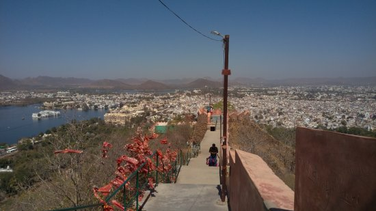 Karni Mata Temple Udaipur Stairs