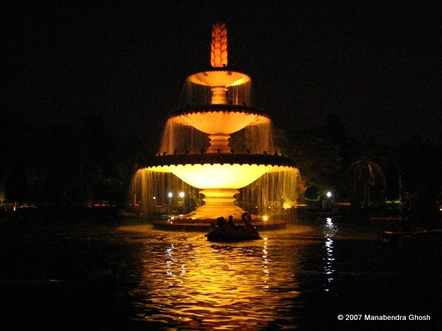Sukhadia Circle Udaipur Night View