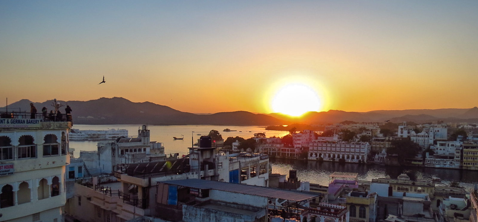 Sunset at Pichola Lake Udaipur