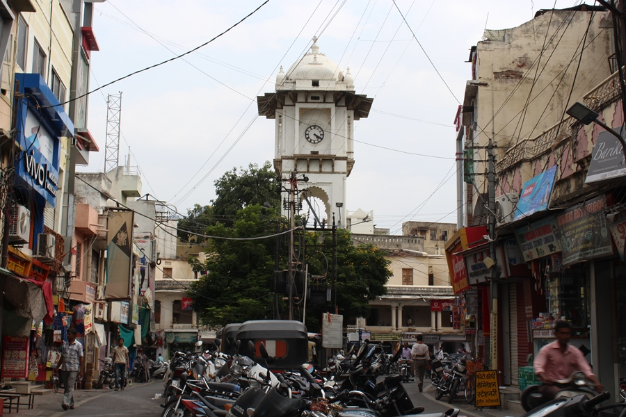 Ghanta Ghar (Clock Tower) Udaipur