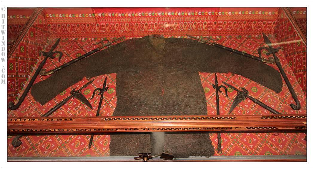 Haldighati Museum Weapons