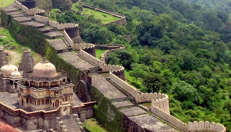 Kumbhalgarh Fort Walls