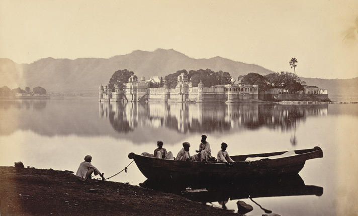 Lake Palace Udaipur Old Pic