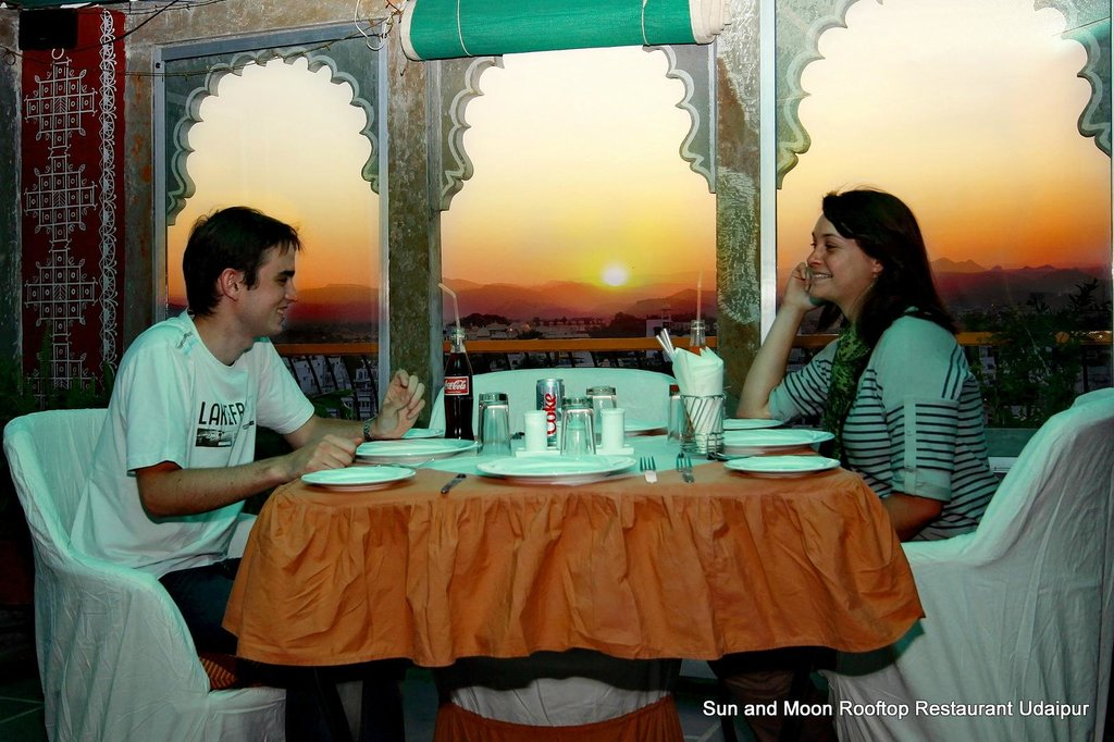 Sun and Moon Rooftop Restaurant Udaipur