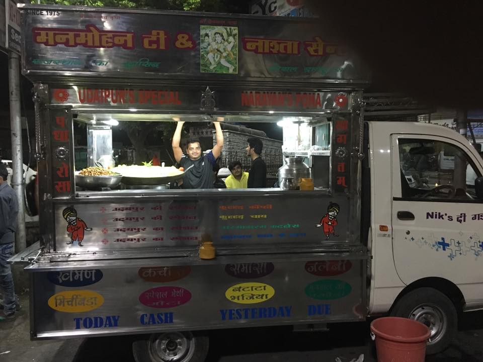The Poha Truck - Manmohan Tea & Nashta Centre