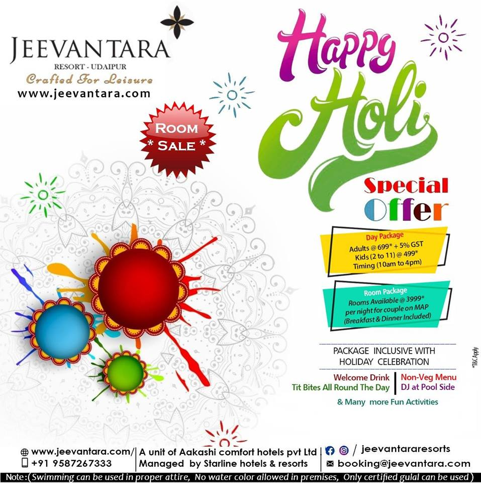 Top Holi Events in Udaipur 2019 04
