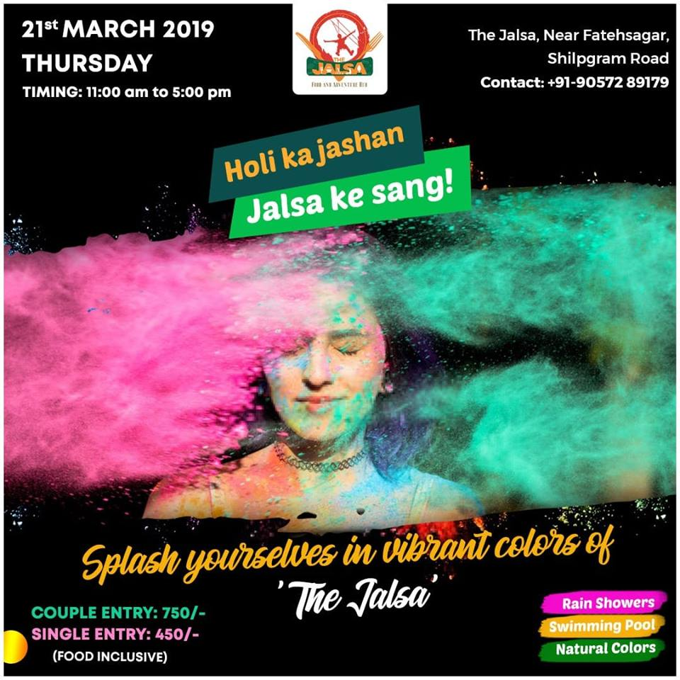 Top Holi Events in Udaipur 2019 05