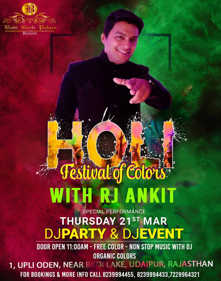 Top Holi Events in Udaipur 2019 06