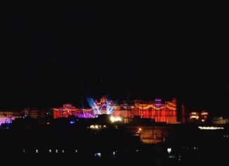 Light and sound show udaipur