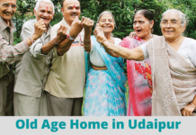 Old age home in Udaipur