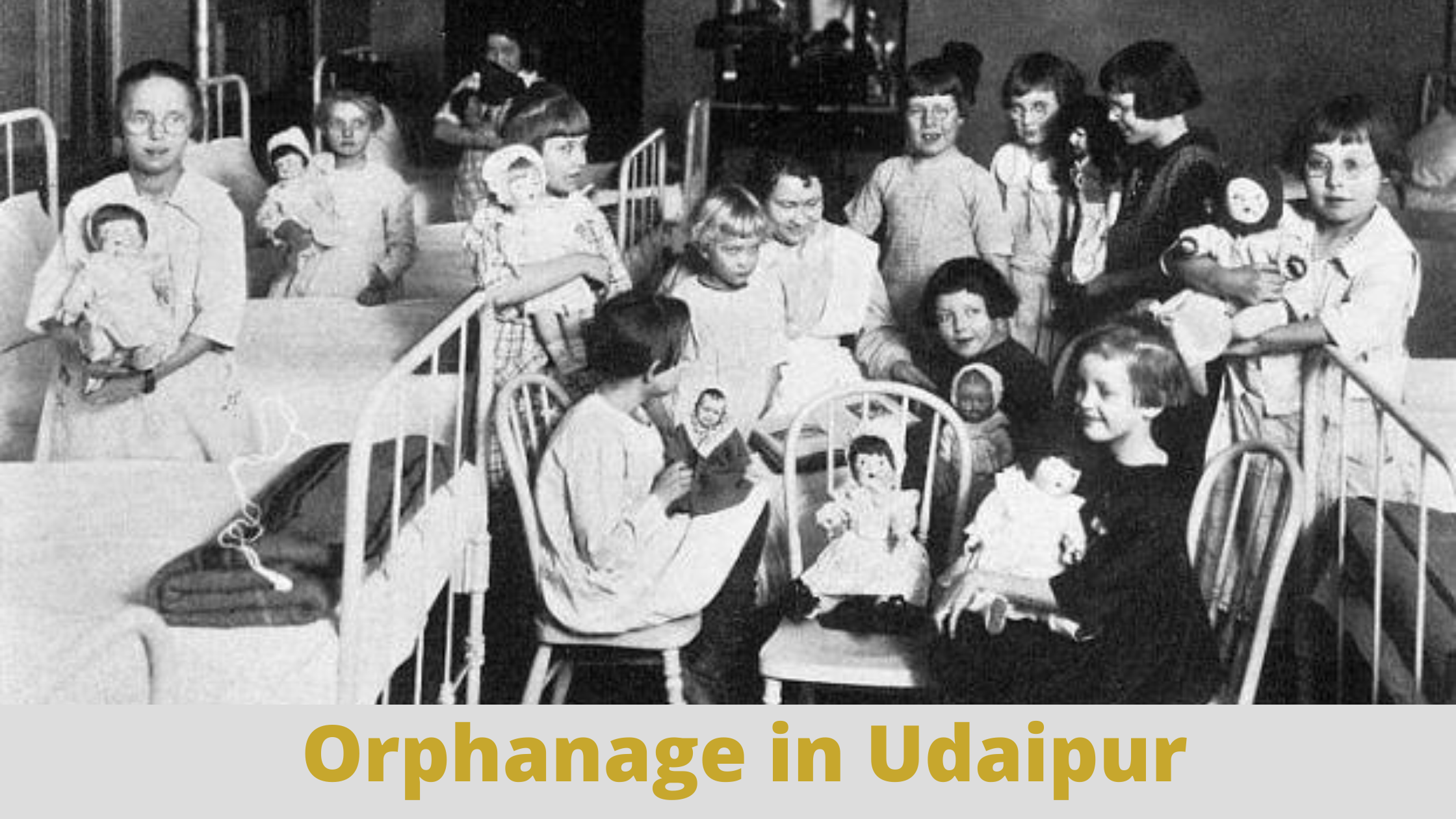 Orphanage in Udaipur